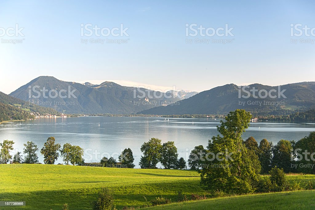 Tegernsee - Kaltenbrunn stock photo