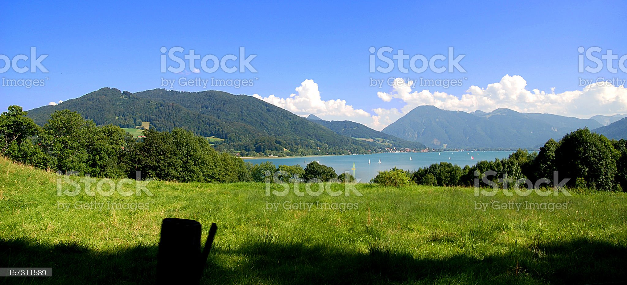 Tegernsee royalty-free stock photo