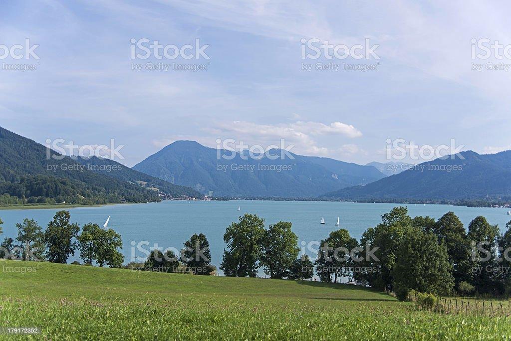 Tegernsee royalty-free stock photo