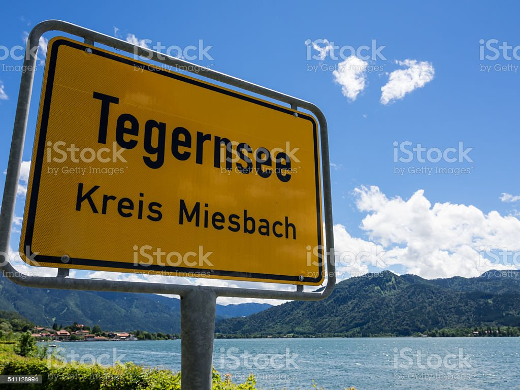 Tegernsee stock photo