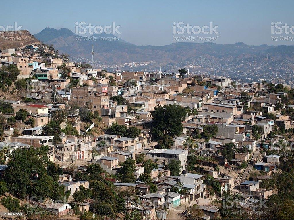 Tegucigalpa stock photo