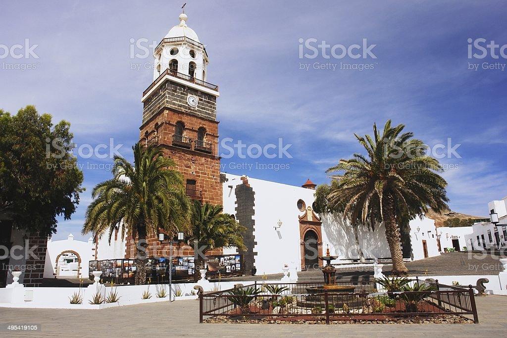 Teguise, Lanzarote stock photo