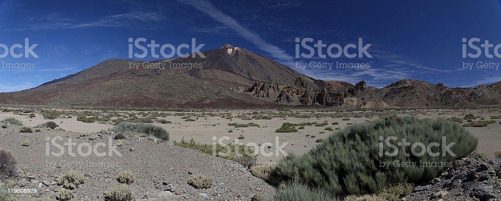 Parque Nacional do Teide foto de stock royalty-free