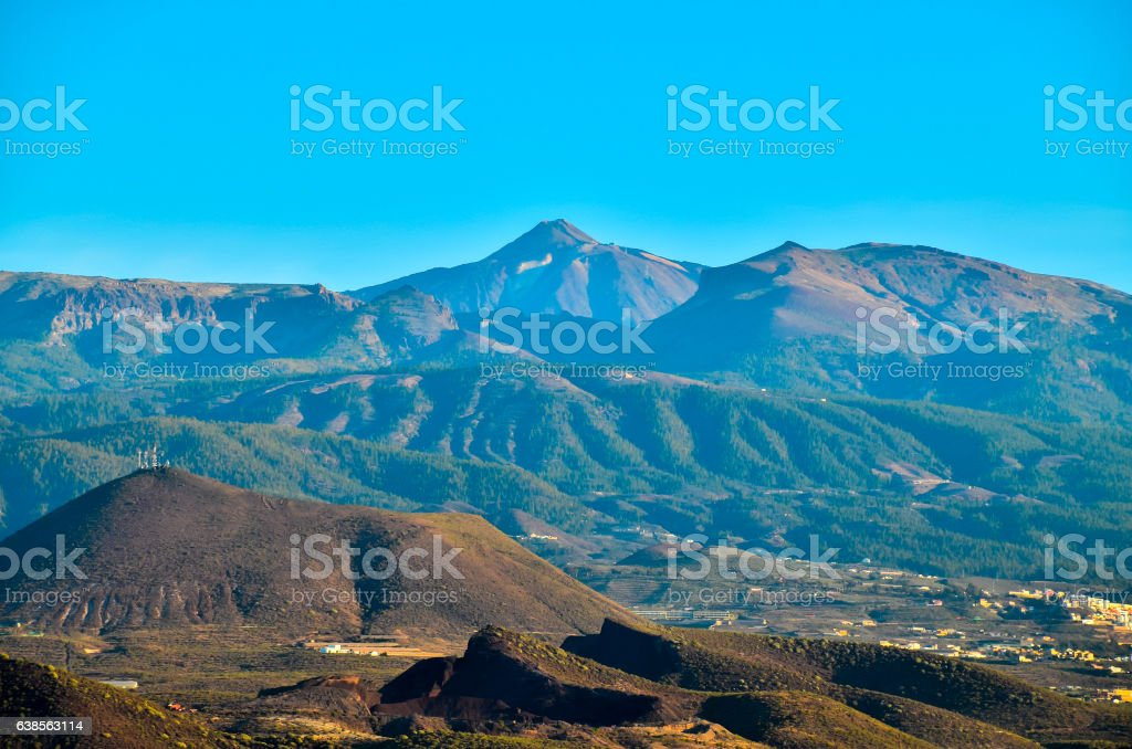 Teide National Park stock photo