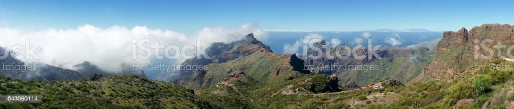 Teide Nationalpark, Icod, Garachico,  Masca stock photo