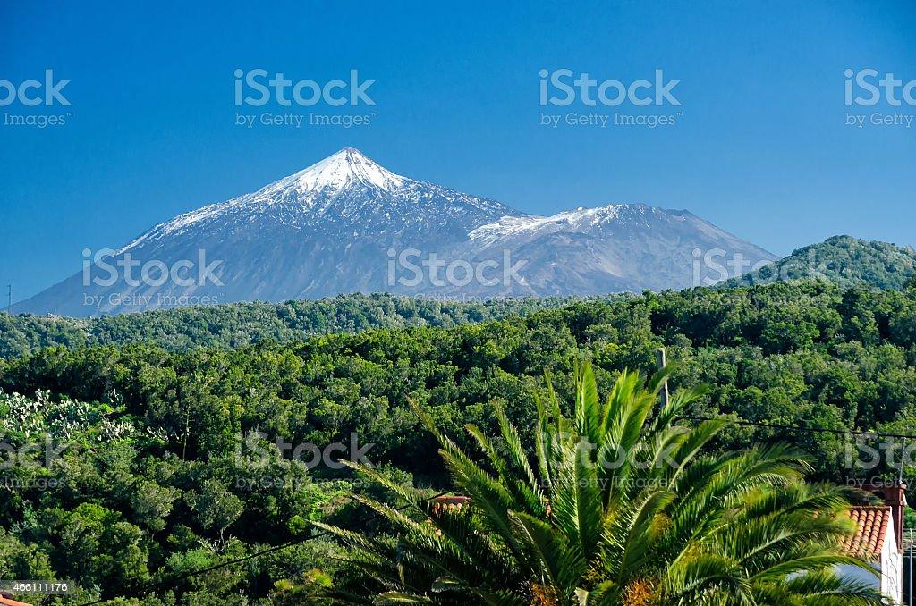 Teide on Tenerife stock photo