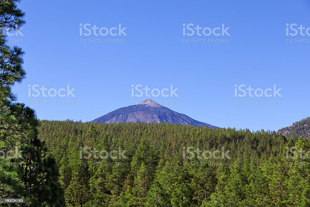 Teide Peak royalty-free stock photo