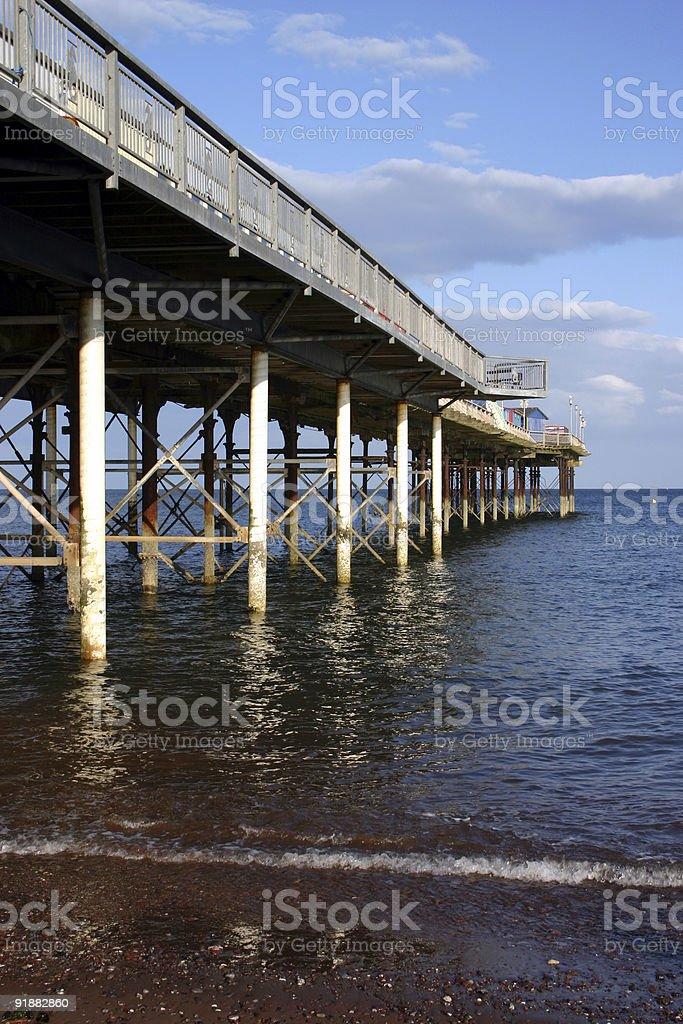 Teignmouth Pier royalty-free stock photo