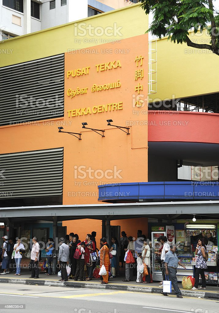 Tekka Centre, Singapore City, stock photo