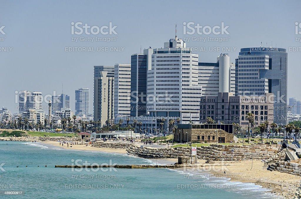 Tel Aviv Israel Cityscape stock photo