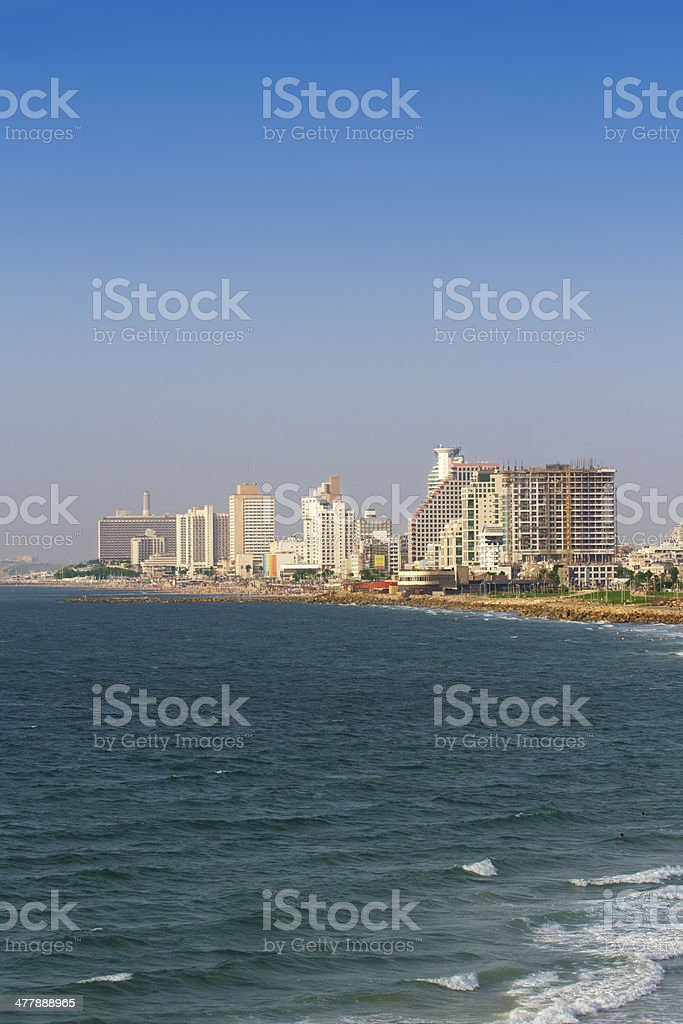 Tel Aviv in Israel royalty-free stock photo