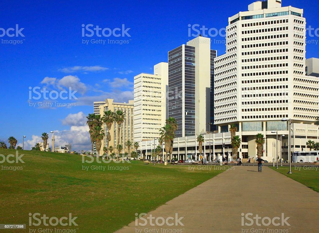 Tel Aviv, Israel. stock photo