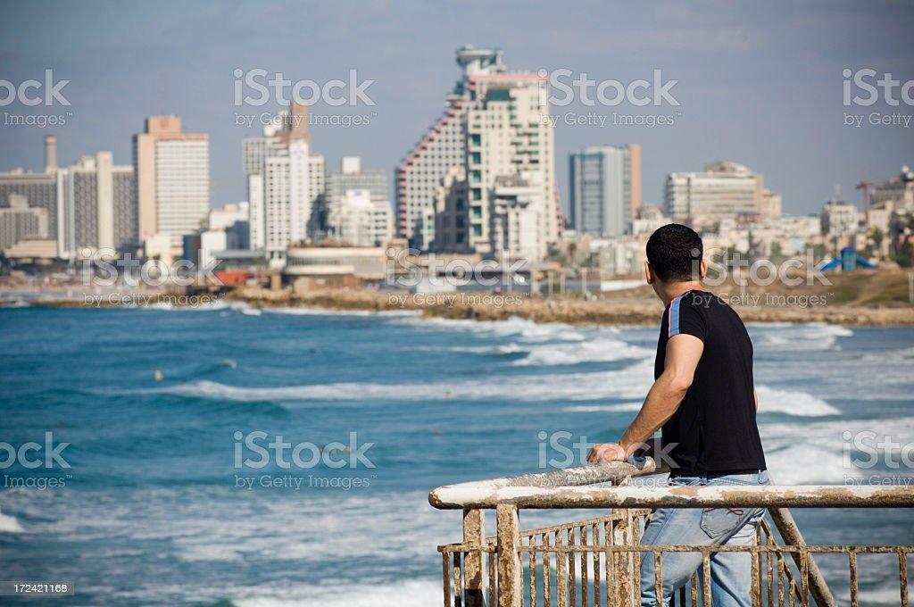 Tel Aviv stock photo