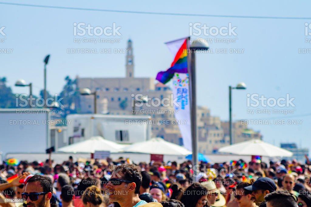 Tel-Aviv Pride Parade 2016 stock photo