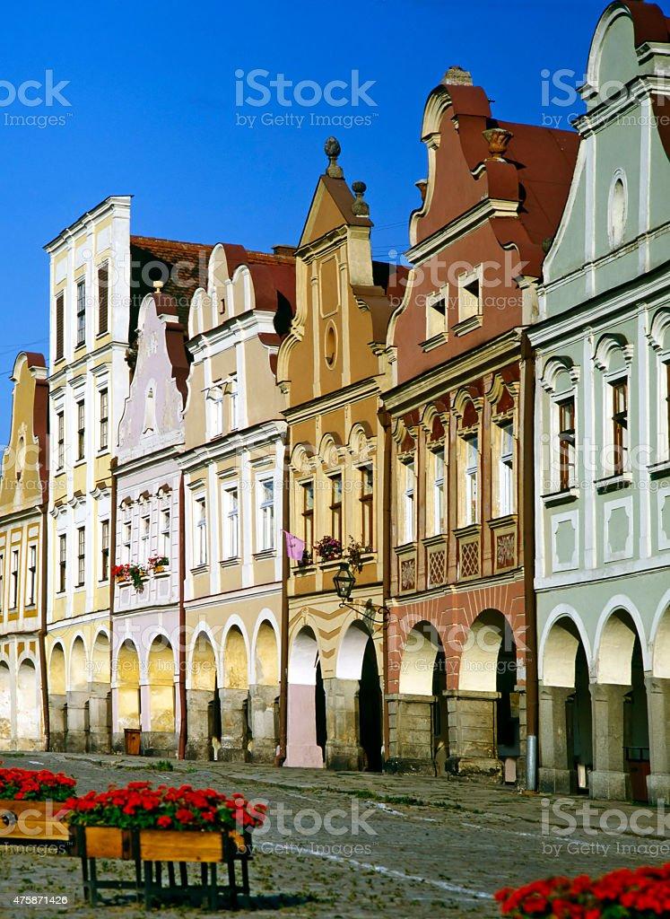 Telc, Czech Republic stock photo