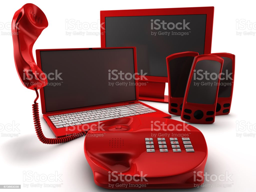 Telco Bundle Pack stock photo