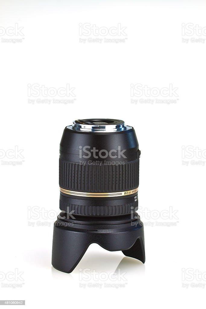 Tele lens stock photo