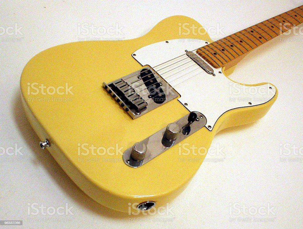 Telecaster royalty-free stock photo