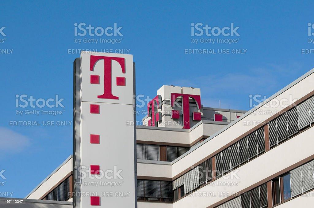 Telecom branch stock photo