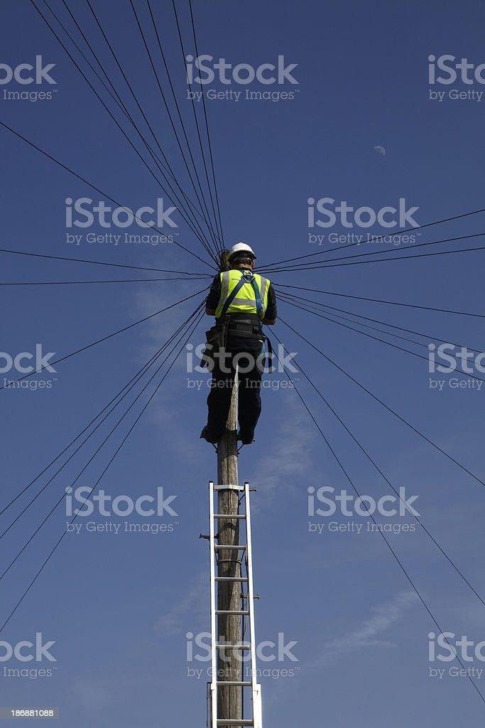 Telecom royalty-free stock photo