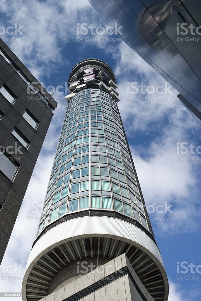 Telecom Tower, central London royalty-free stock photo
