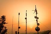 Telecommunication aerials