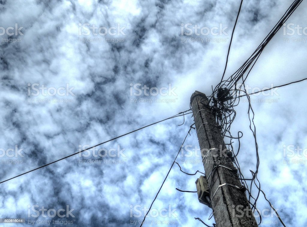 Telecommunication cable tower