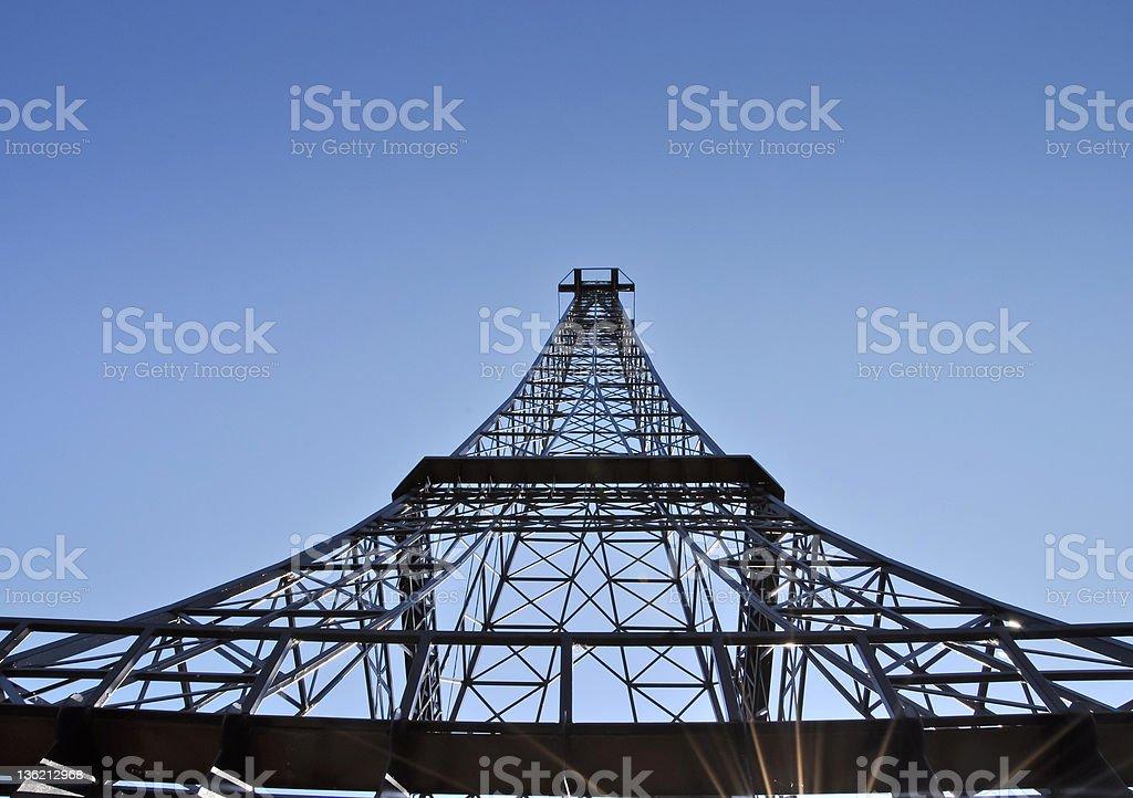 Telecommunication tower Lizenzfreies stock-foto