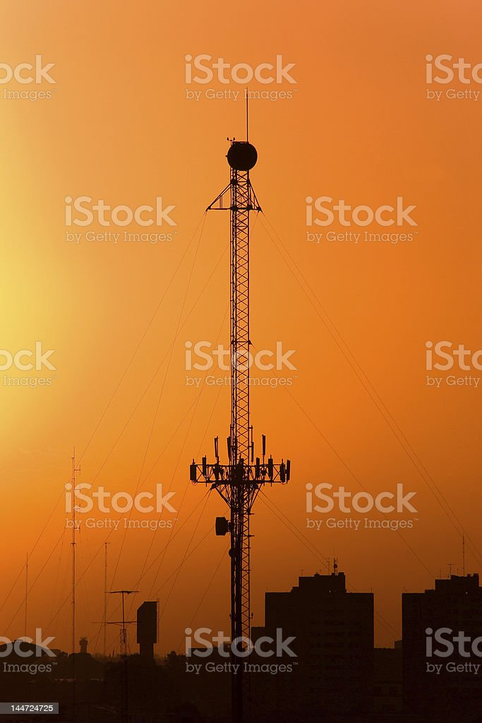Telecommunications Antenna (IMGP0665) royalty-free stock photo