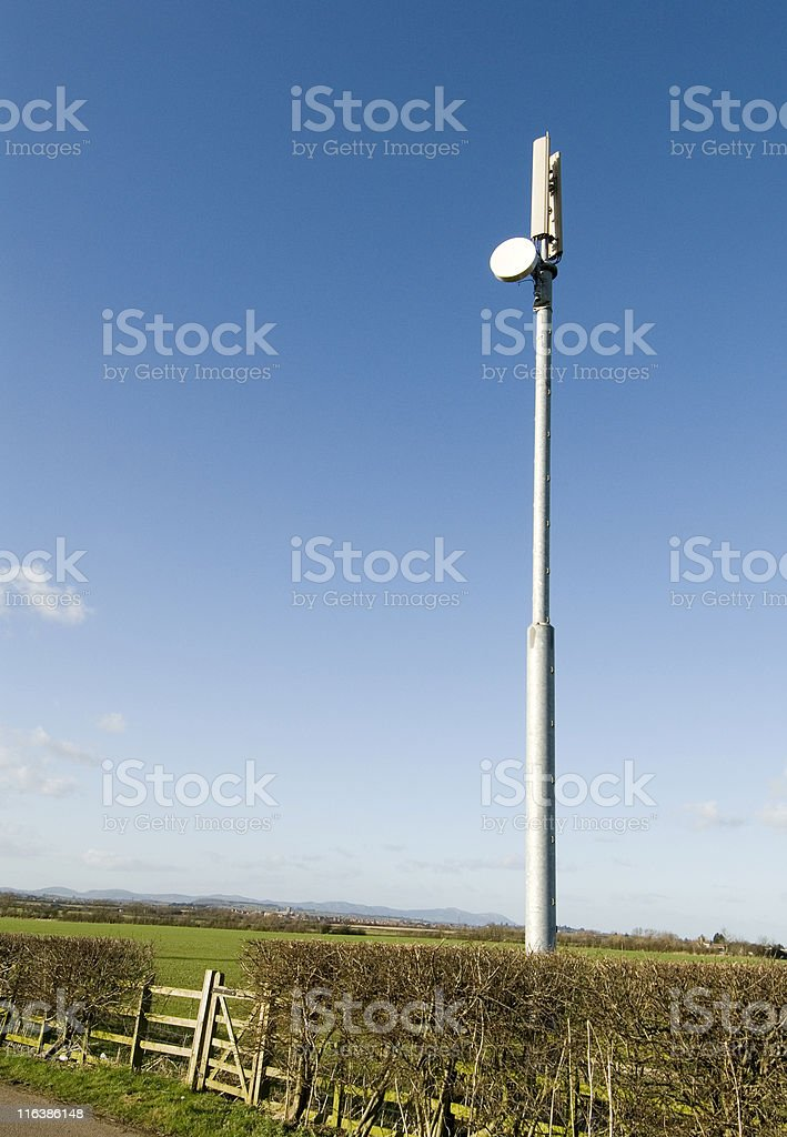 Telecommunications Mast stock photo