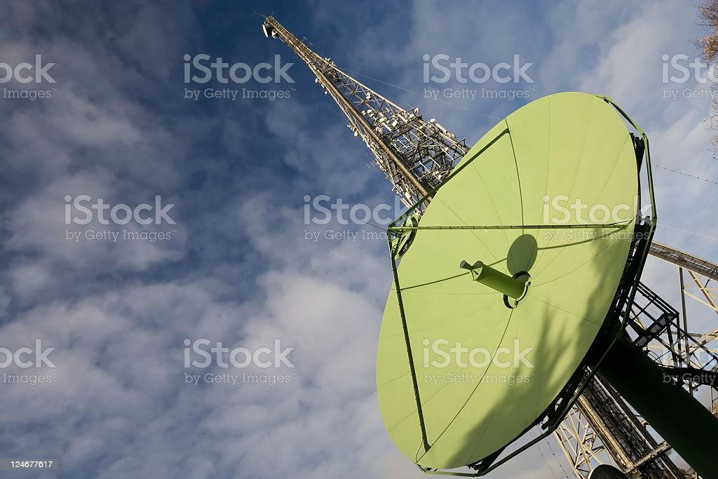 Telecommunications royalty-free stock photo