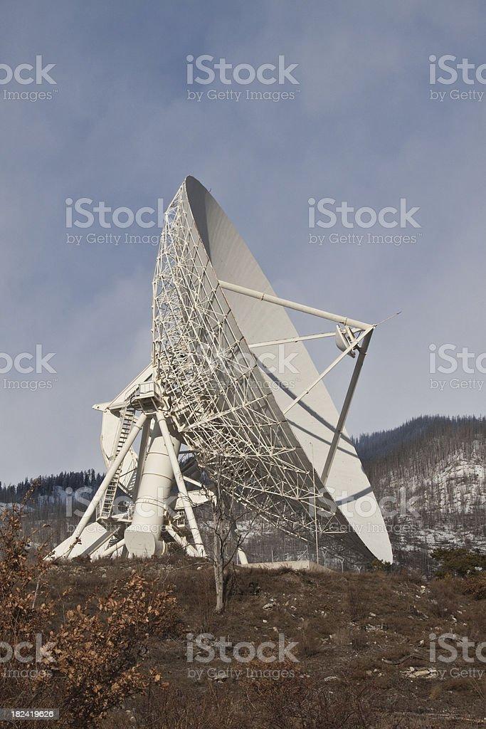 Telecommunications Satellites Dish royalty-free stock photo