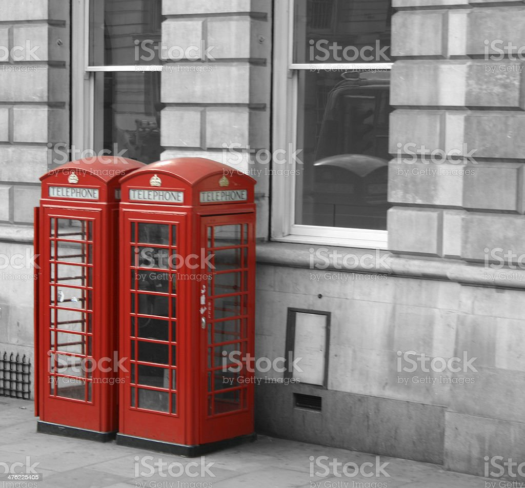 Telefonkabinen London royalty-free stock photo