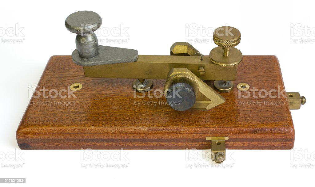 Telegraph Key stock photo