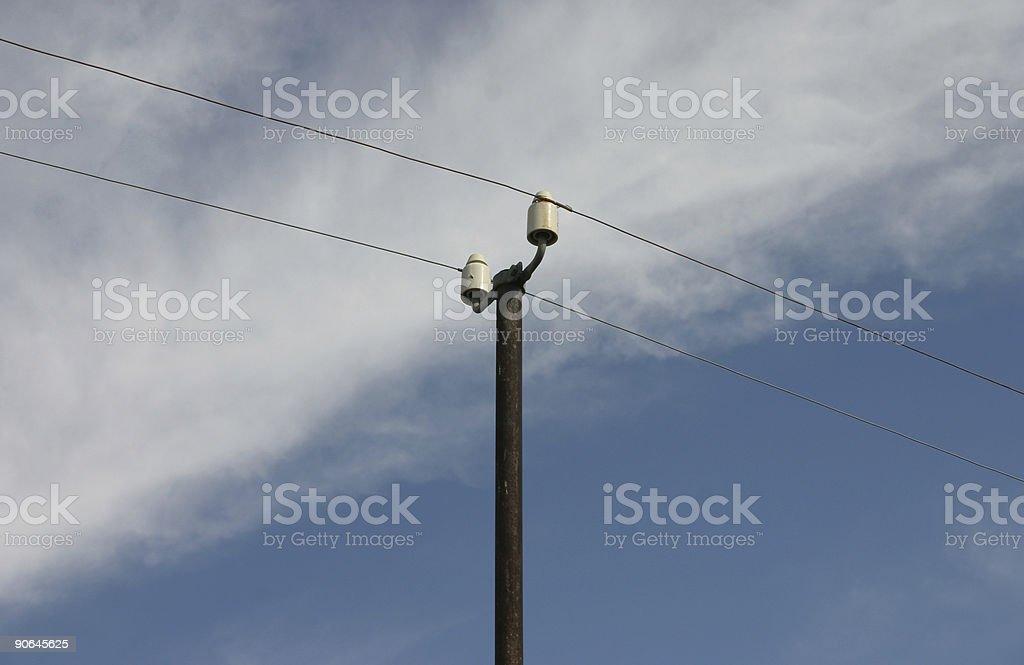 Telegraph Pole 01 stock photo