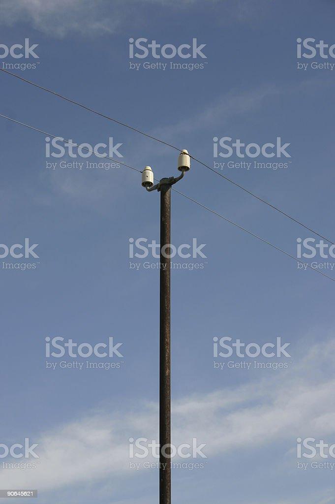 Telegraph Pole 03 stock photo