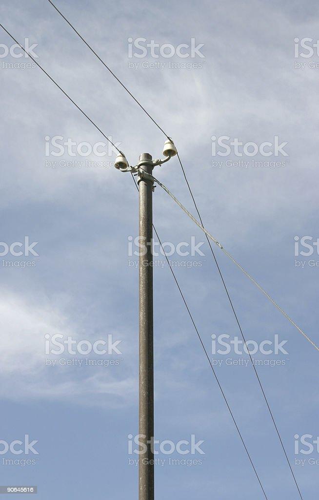Telegraph Pole 05 stock photo