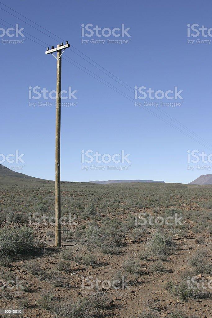 Telegraph Pole 11 stock photo