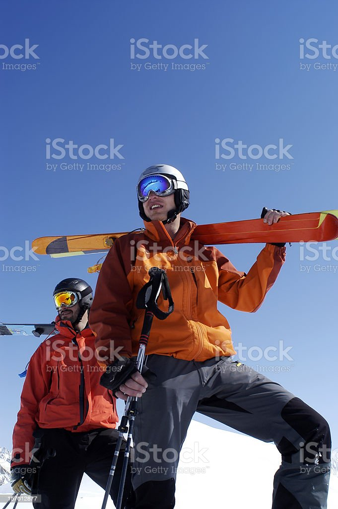 Telemarker royalty-free stock photo