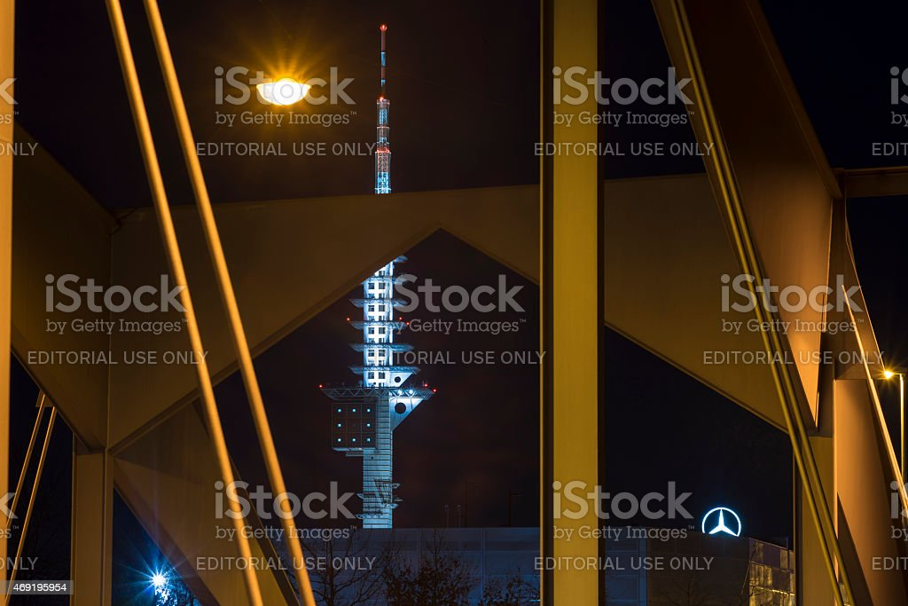 Telemax Tower in Hannover stock photo
