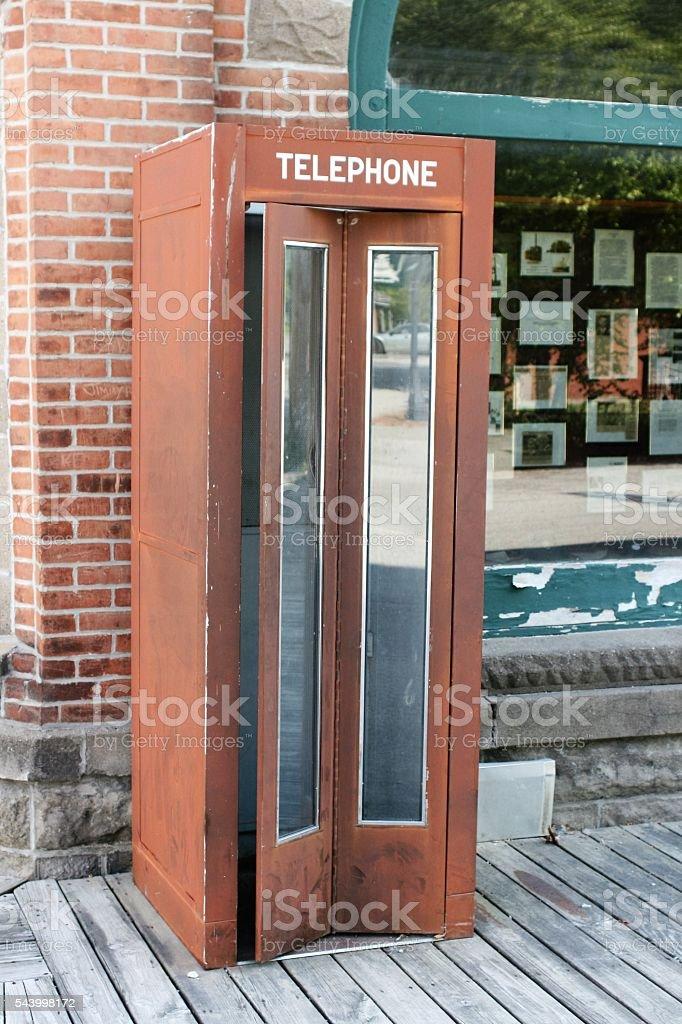 Telephone Booth stock photo