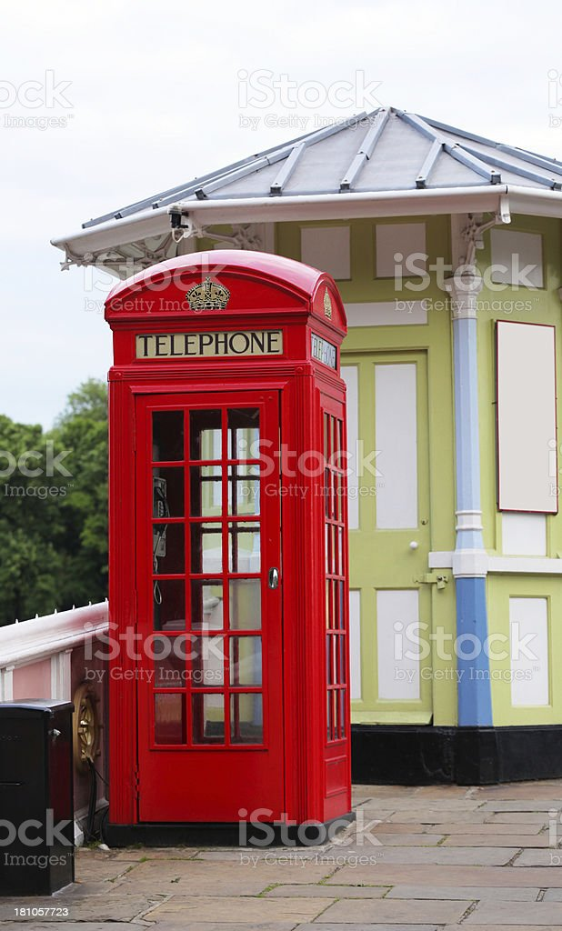 Telephone Box royalty-free stock photo