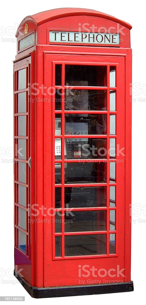 Telephone Box stock photo