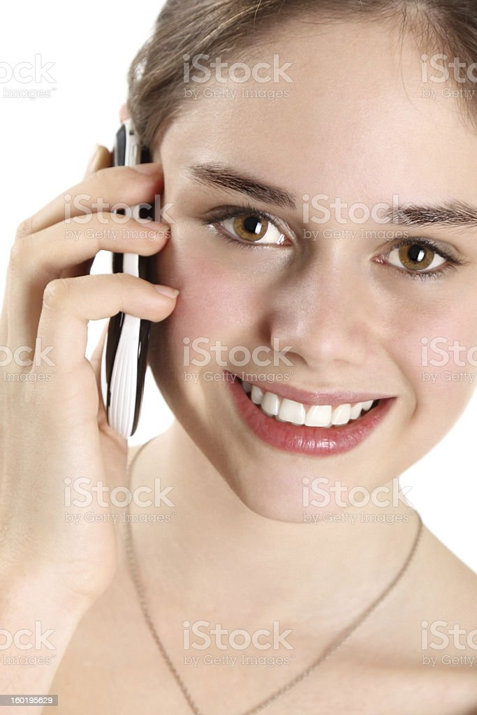 Telephone call royalty-free stock photo