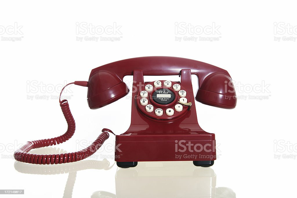 Telephone Cord royalty-free stock photo