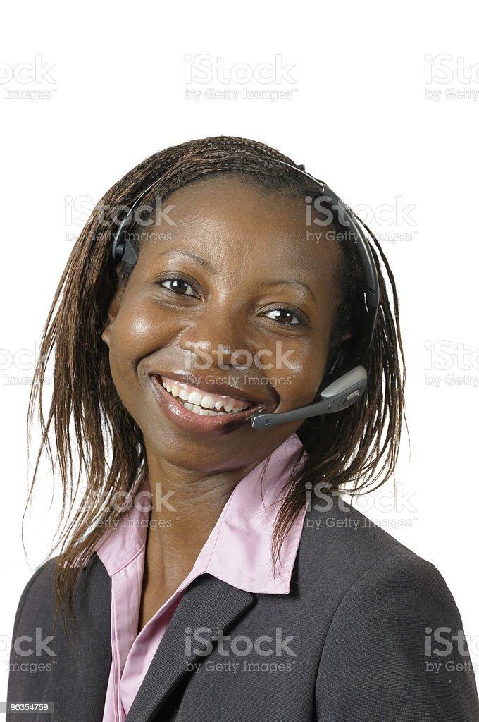 Telephone Customer Service royalty-free stock photo