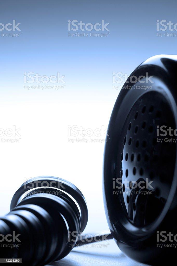 Telephone Handset royalty-free stock photo
