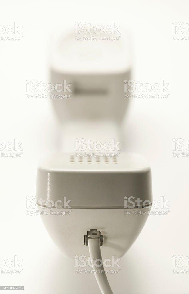 Telephone Handset stock photo