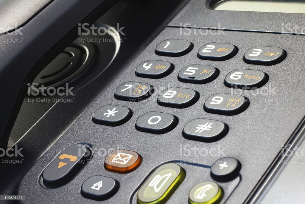 Telephone IP stock photo