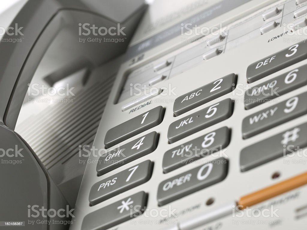 Telephone keypad royalty-free stock photo